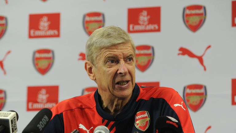 Arsene Wenger says the Arsenal squad has enough attacking options to cope with Danny Welbeck's absence