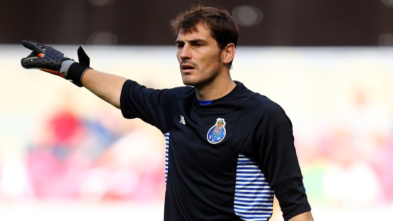 Iker Casillas is set for his 151st Champions League appearance