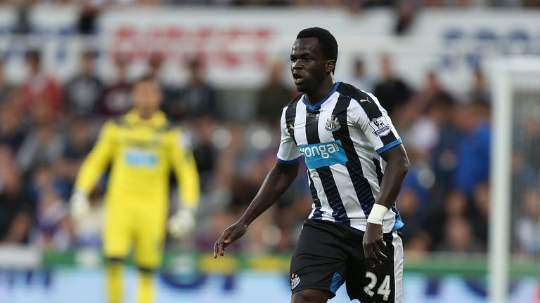 Midfielder Cheick Tiote is a target for Al Jazira