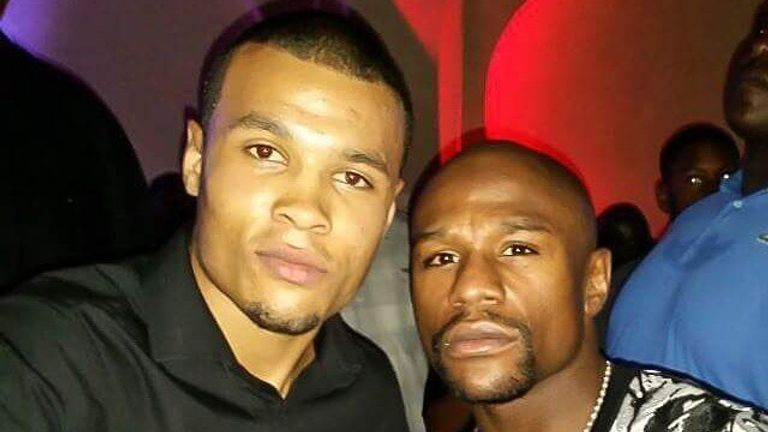 Eubank Jr says he wants to fill the void left by Floyd Mayweather's retirement (courtesy of Chris Eubank Jr's official instagram)