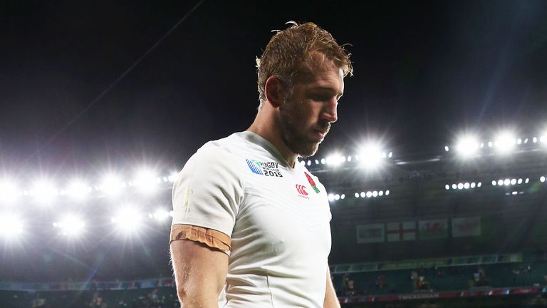 Chris Robshaw says England's 2015 Rugby World Cup pool stage exit will always be a scar on him