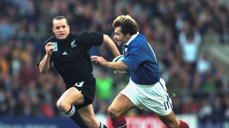 Christophe Dominici was one of the stars on the day in 1999, creating one try and scoring another as France turned things around