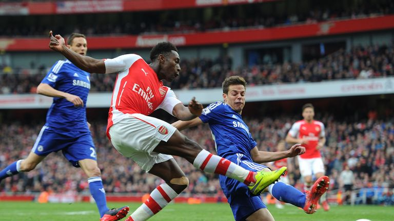 Welbeck will be out until Christmas after having surgery on a knee injury suffered against Chelsea in April