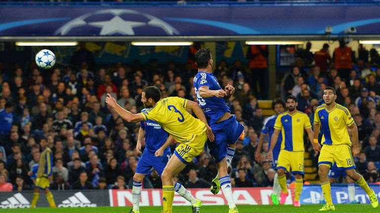 Diego Costa scored Chelsea's third with a great strike on the turn