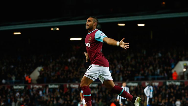 Payet doubled West Ham's lead shortly after half-time