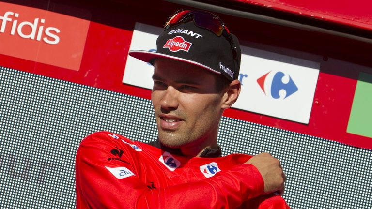 Dumoulin is being tipped as a potential Tour de France winner