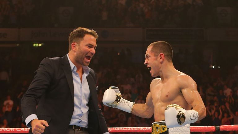 Promoter Eddie Hearn hopes Scott Quigg will finally face Carl Frampton in a few months time