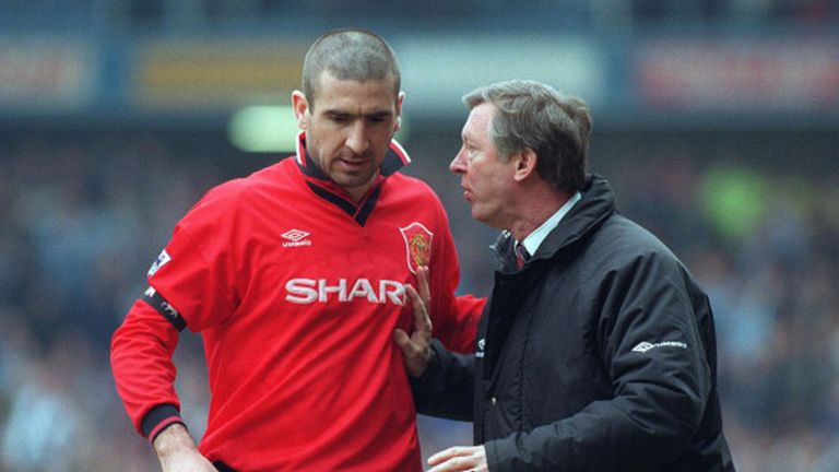 Eric Cantona is one of only four world-class players Sir Alex Ferguson claims to have had