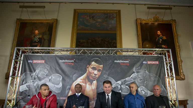 The Eubank dream team is now in place