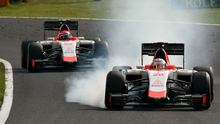 Manor's drivers have been in a private battle at the tail of the field all season