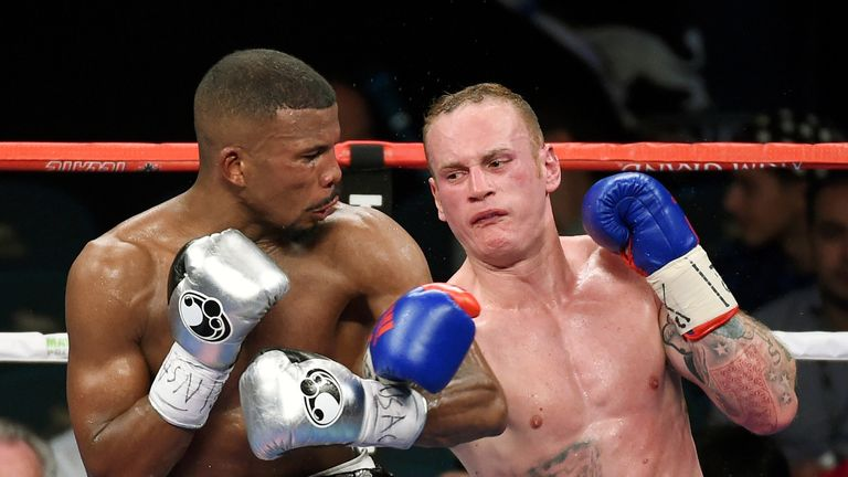 George Groves is considering his next move after a third world title defeat