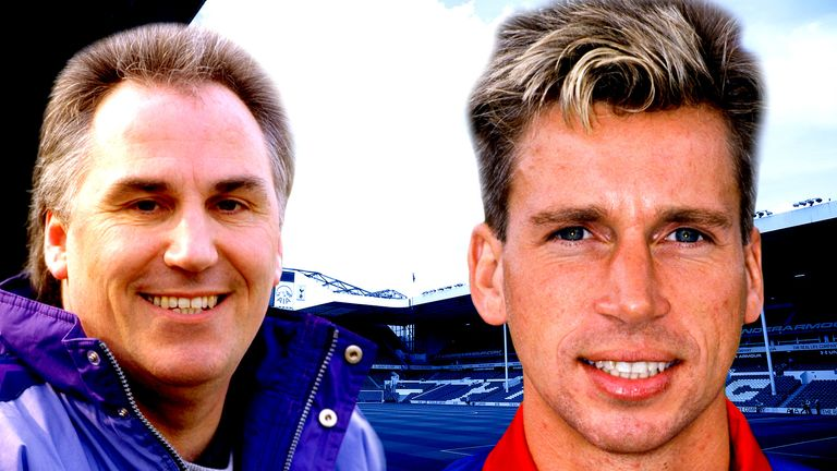 Gerry Francis's Tottenham turned to Alan Pardew for help in 1995