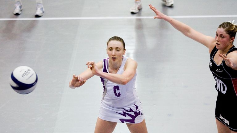 Clarke played for Lightning in the 2006 Netball Superlague