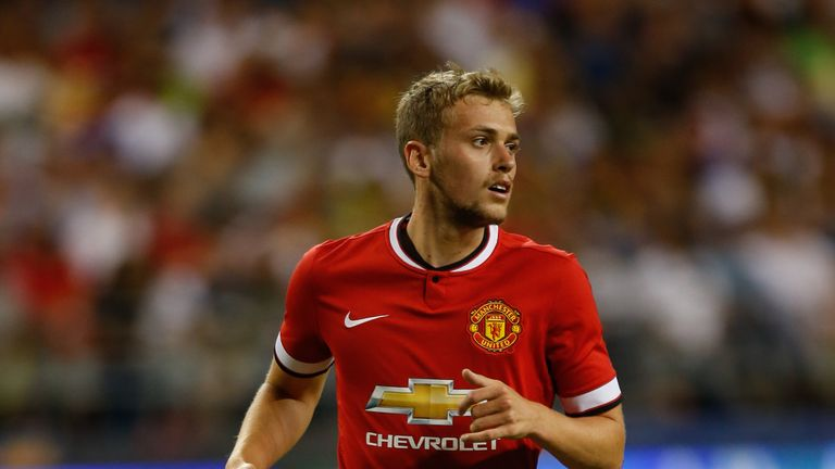 James Wilson #49 of Manchester United follows the play against against Club America during the International Champions Cup at CenturyLink Field