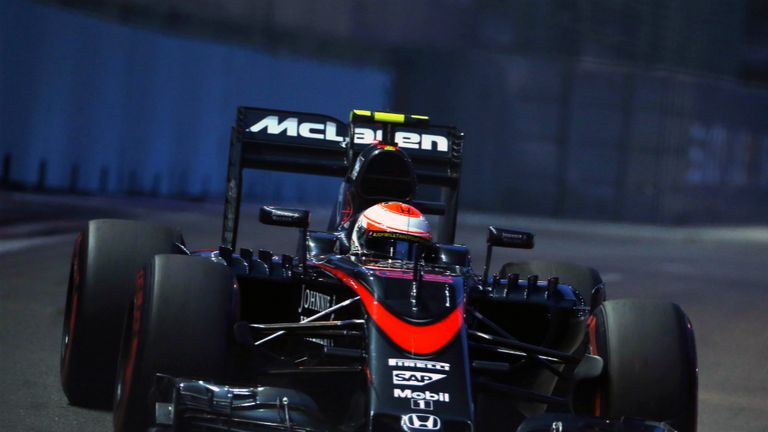 McLaren no longer have a title sponsor