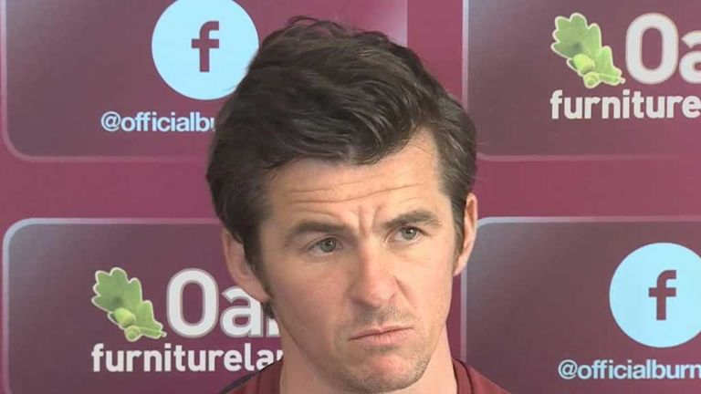 Joey Barton joined Burnley on a one-year deal