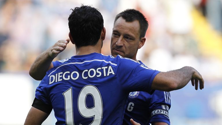 Mourinho joked about John Terry's relationship with Diego Costa