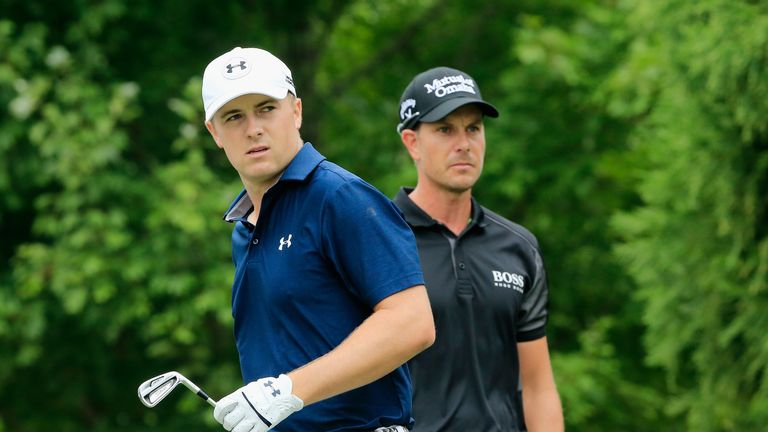 Spieth and Stenson were full of mutual respect during the final round