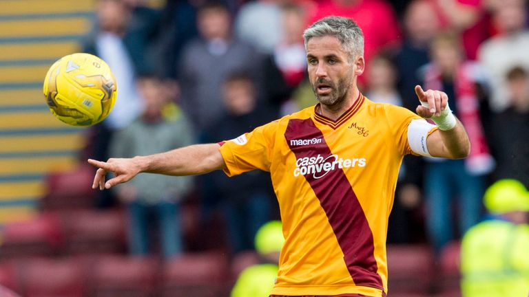 Keith Lasley admits Motherwell's players let Ian Baraclough down