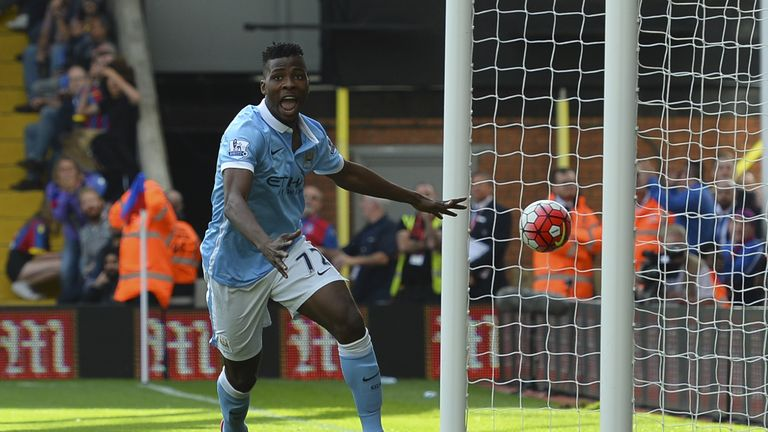 Kelechi Iheanacho scored as Man City beat Palace for a fifth straight win