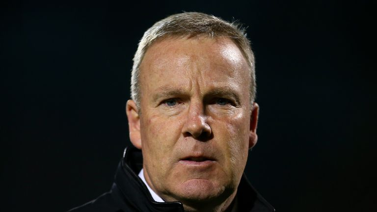 LONDON, ENGLAND - SEPTEMBER 29:  Kenny Jackett manager of Wolves looks on prior to the Sky Bet Football League Championship match between Fulham and Wolver
