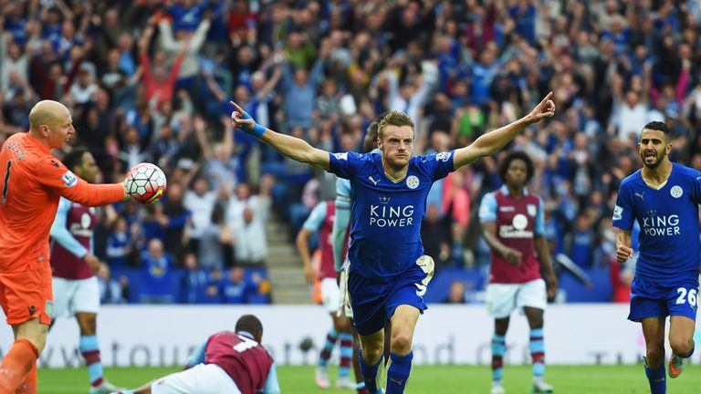 Jamie Vardy said Leicester's start to games was becoming 'tiring'