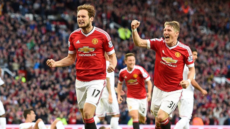 Blind put United in front with a fine strike