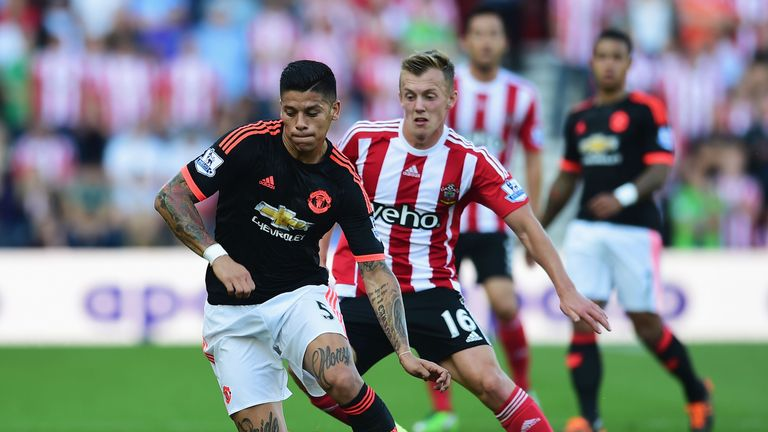 Van Gaal has given his backing to United defender Marcos Rojo