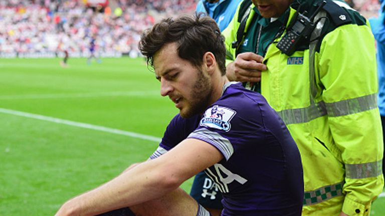Ryan Mason was stretchered off in the win at Sunderland