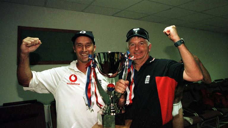 Hussain worked with Duncan Fletcher during his succesful stint as England head coach