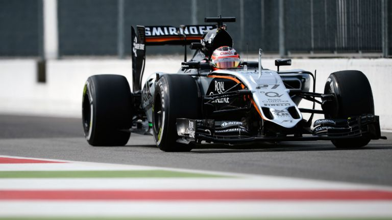 Nico Hulkenberg: Fifth fastest in second practice