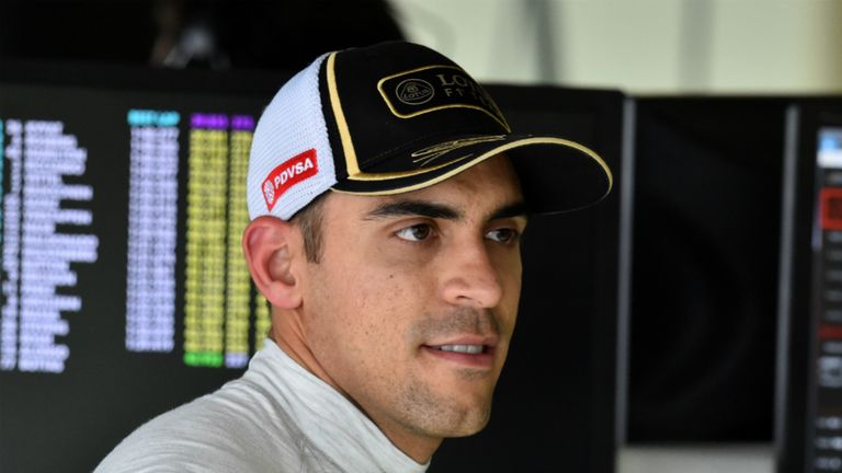 Pastor Maldonado has been confirmed as a 2016 driver