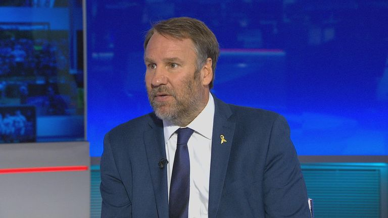 Paul Merson is expecting Arsenal to beat Leicester next weekend