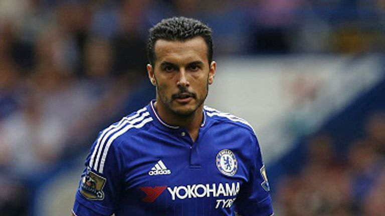 Pedro joined Chelsea in a £21.4m deal from Barcelona