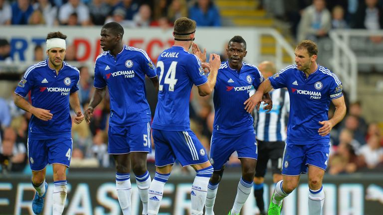 Chelsea fought back from two goals down to rescue a point