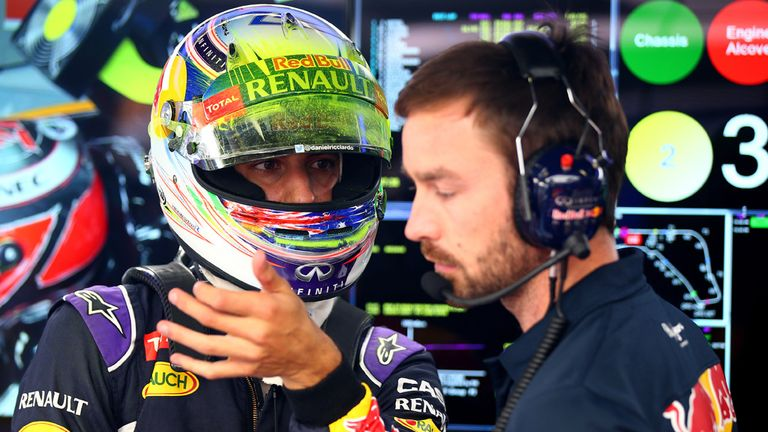 Daniel Ricciardo says Red Bull will be able to make some progress from the back on Sunday