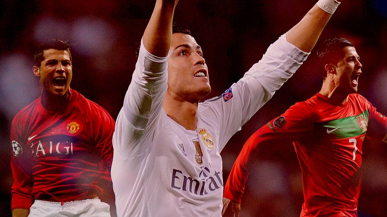 Cristiano Ronaldo is now Real Madrid's joint-top goalscorer in their history
