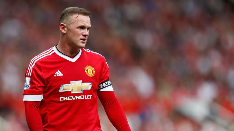 MANCHESTER, ENGLAND - AUGUST 22:  Wayne Rooney of Manchester United looks on during the Barclays Premier League match between Manchester United and Newcast