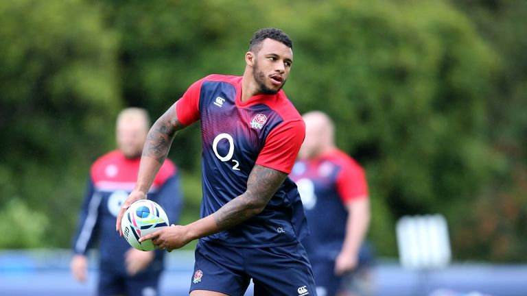 Courtney Lawes gets the nod ahead of Joe Launchbury in England's second row