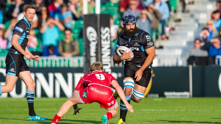 Josh Strauss has been included in Scotland's World Cup squad