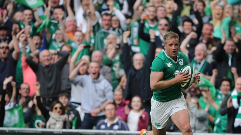 Luke Fitzgerald has been ruled out of the Six Nations