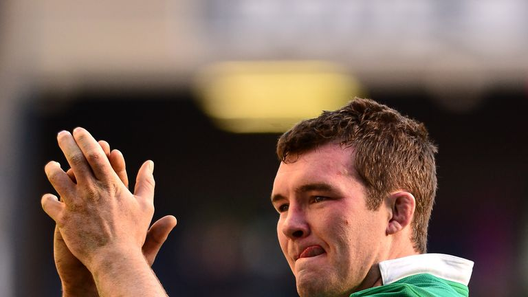 Peter O'Mahony could captain Ireland but is unlikely to play in the Six Nations