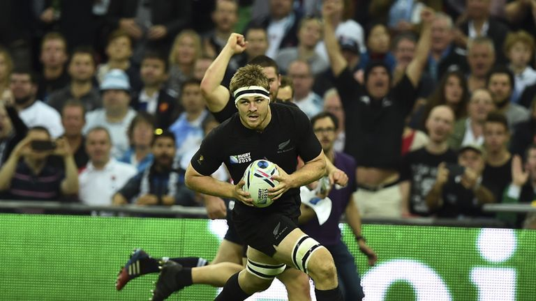 Replacement Sam Cane crosses for his side's second try