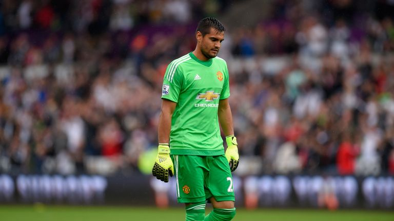 Romero came in for criticism for his performance against Swansea