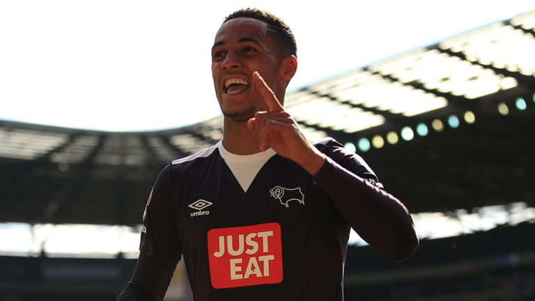 Tom Ince has been instrumental in some good results for Derby in December