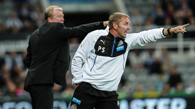 Steve McClaren and assistant Paul Simpson have overseen just one win at Newcastle this season