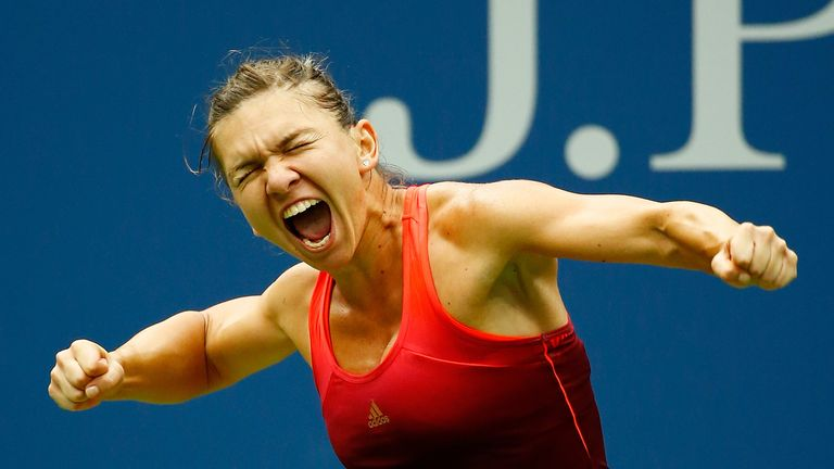 Halep said she hoped Serena Williams would win the US Open to complete the calendar Grand Slam