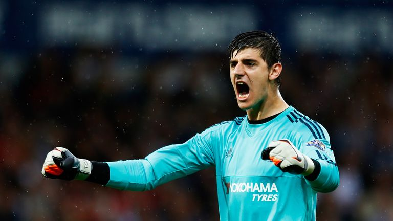 Thibaut Courtois has had his playing time reduced through injury