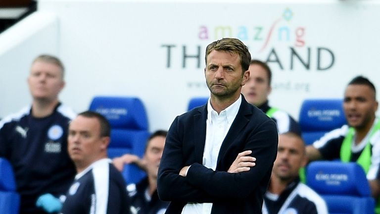 Tim Sherwood the Aston Villa manager
