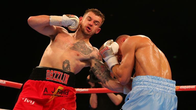 Tom Doran stopped Mike Byles in five rounds in his last fight